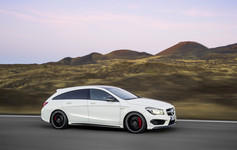 Mercedes-Benz CLA Shooting Brake: Schöner laden