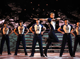 Stepptanz in Gr�n: Lord of the Dance auf Tour