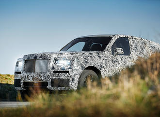 Rolls-Royce Cullinan: Ein Fall für James Bond