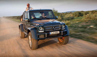 Mercedes-Maybach G650 Landaulet: Das ultimative Gelände-Cabrio