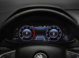 Skoda Karoq mit Digital-Cockpit