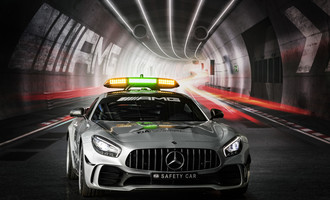 Mercedes-AMG GT R neues Safety Car der Formel 1