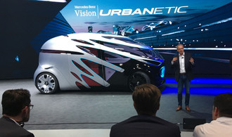Mercedes-Benz Vans ,,Urbanetic'': Vision oder Illusion