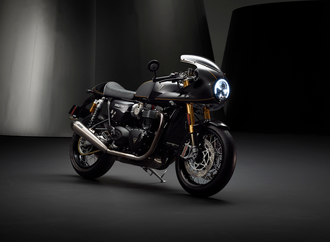Thruxton TFC: Triumphs neues Custom-Bike