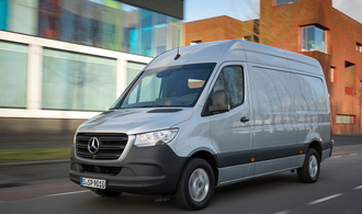 Neuer Mercedes Sprinter: Stern am Transporterhimmel