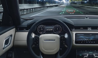 Jaguar Land Rover arbeitet an 3-D-Head-up-Display